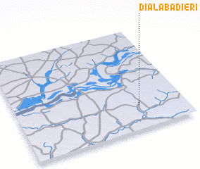 3d view of Dialaba Diéri