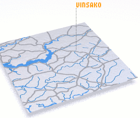 3d view of Vinsako