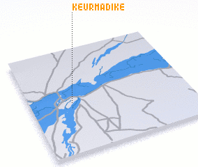 3d view of Keur Madiké