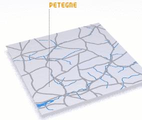3d view of Pétègne