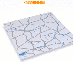 3d view of Kassé Médina