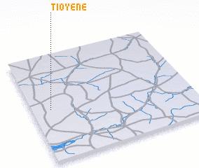 3d view of Tioyène