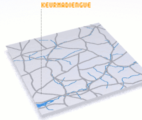 3d view of Keur Madièngue