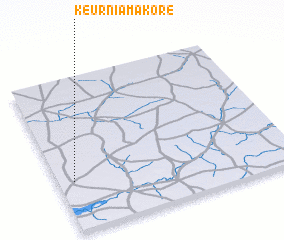 3d view of Keur Niamakore