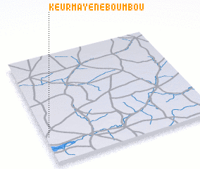 3d view of Keur Mayene Boumbou