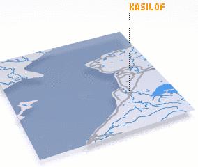 3d view of Kasilof