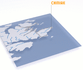 3d view of Chiniak