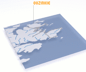 3d view of Ouzinkie