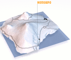 3d view of Honuapo