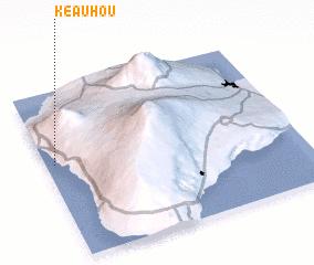 3d view of Keauhou