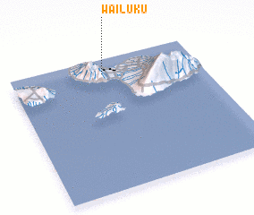 3d view of Wailuku