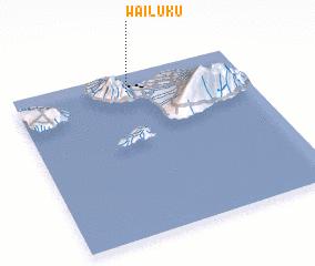 3d view of Wailuku