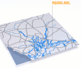 3d view of Ngouloul