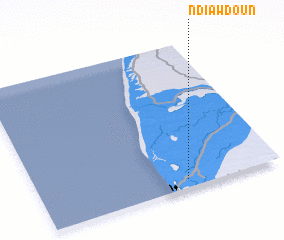 3d view of Ndiawdoun