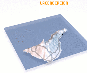 3d view of La Concepción