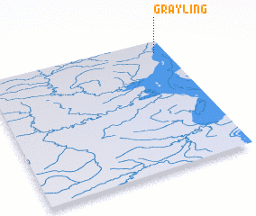 3d view of Grayling
