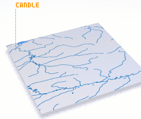 3d view of Candle