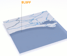 3d view of Bluff