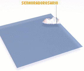 3d view of Senhora do Rosário