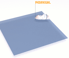 3d view of Pedregal