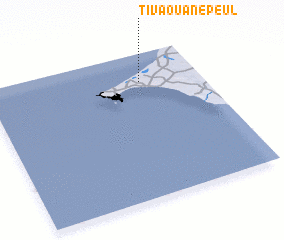 3d view of Tivaouane Peul