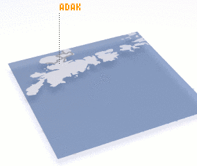 3d view of Adak