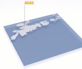 3d view of Adak
