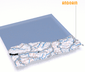 3d view of Andoain
