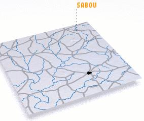 Sabou Burkina Faso map nonanet