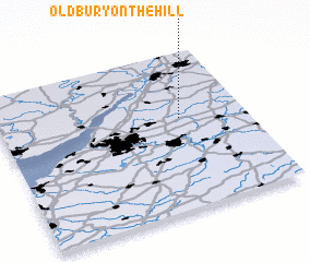 3d view of Oldbury on the Hill