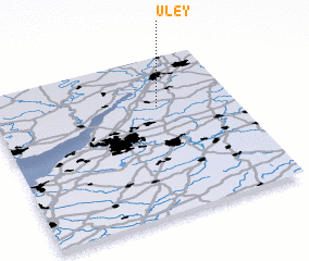 3d view of Uley