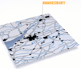 3d view of Hawkesbury