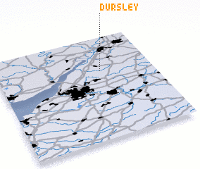 3d view of Dursley