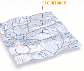 3d view of El Contador