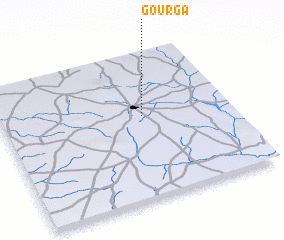 3d view of Gourga