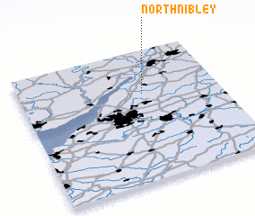 3d view of North Nibley