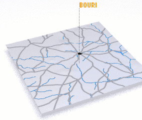 3d view of Bouri