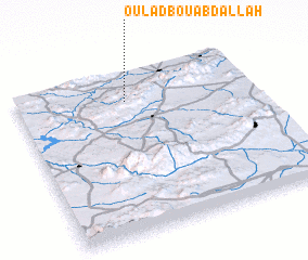 3d view of Oulad Bou Abdallah