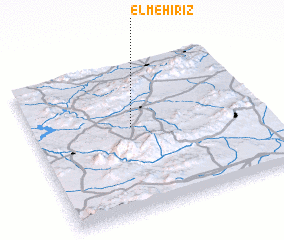 3d view of El Mehiriz
