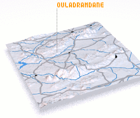 3d view of Oulad Ramdane