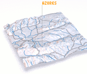 3d view of Azores