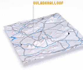 3d view of Oulad Khallouf