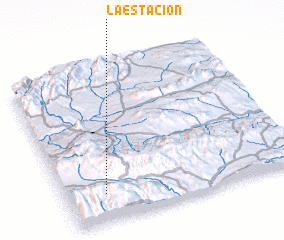 3d view of La Estación