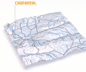 3d view of Chaparral