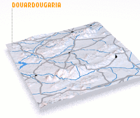 3d view of Douar Dougaria