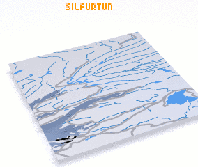 3d view of Silfurtún