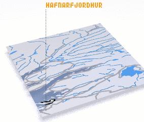 3d view of Hafnarfjörður