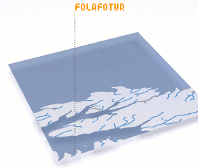 3d view of Folafótur