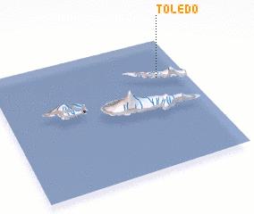 3d view of Toledo