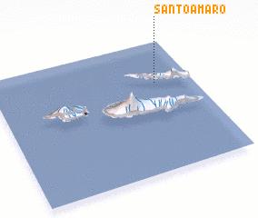 3d view of Santo Amaro